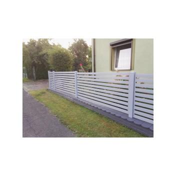 Ogrodzenie deskowe wraz z bramą