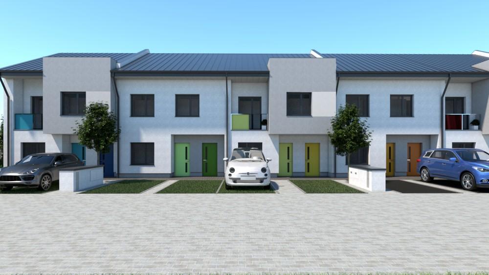 Budowa sześciu budynków mieszkal